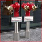 Goldene Hydranten