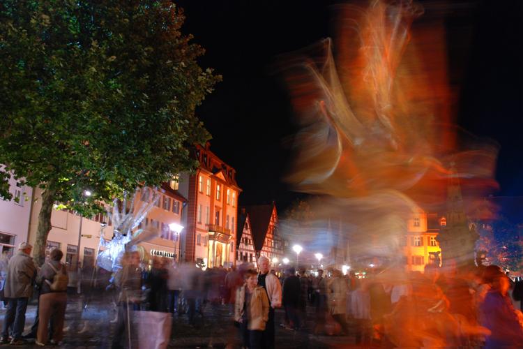 Goldene Nacht in Schwabach