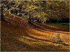 Goldene Oktobersonne