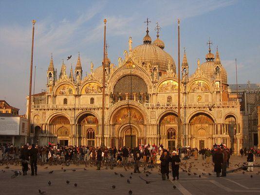 Goldene Pracht in Venedig