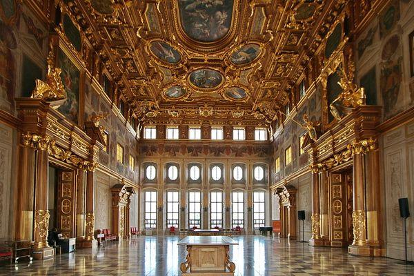 Goldene Saal vom Rathaus in Augsburg