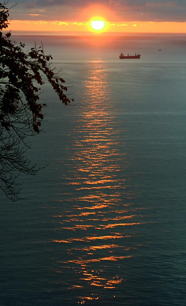 Goldene Sonnenstrahlen....