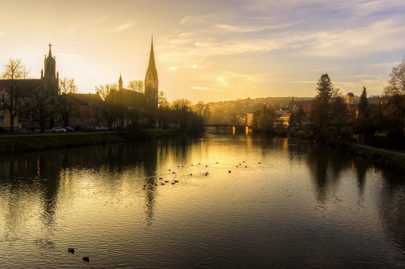 Goldene Stunde in Rottenburg