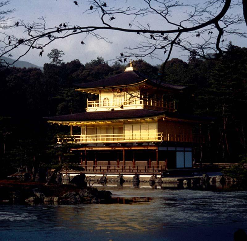 Goldene Tempel in Kyoto