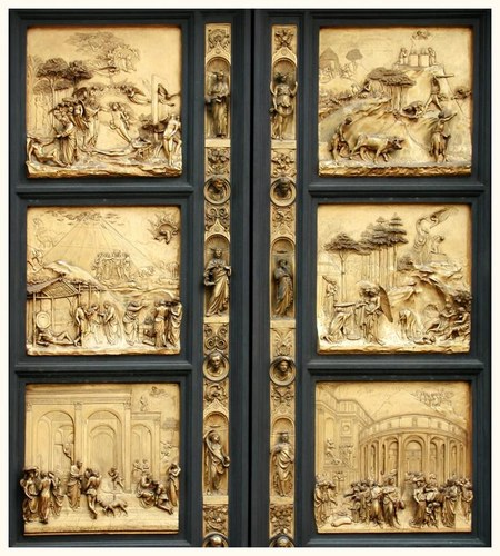 Goldene Tür