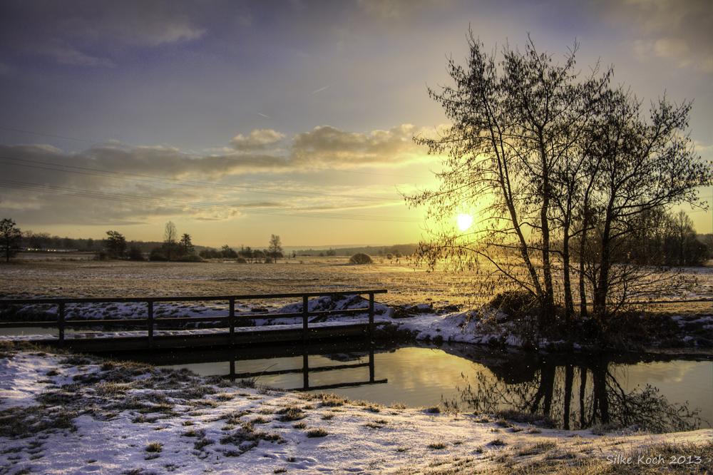 Goldenener Morgen