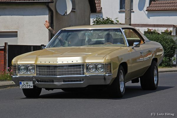 Goldener Chevrolet