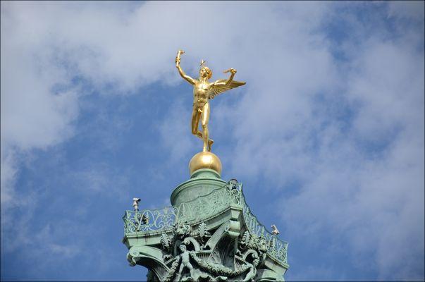 Goldener Engel an der place de la bastille in Paris