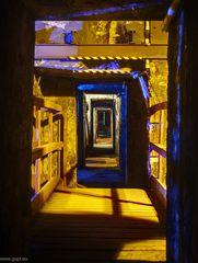 Goldener Gang unter der Möllerung - Henrichshütte