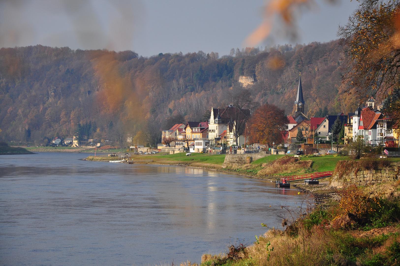 Goldener Herbst in der Sächsischen Schweiz