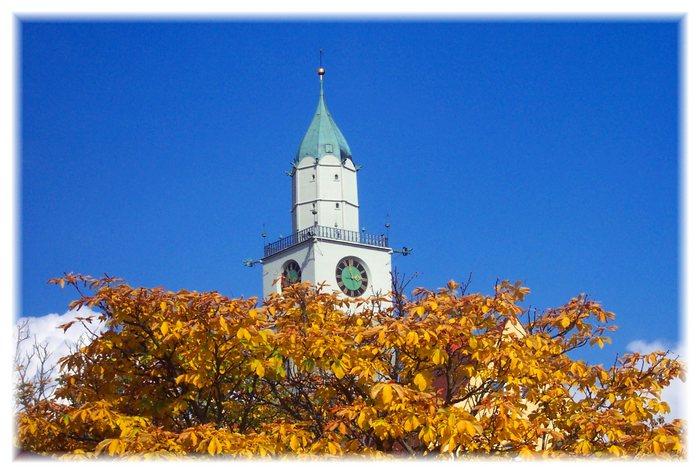 goldener Herbst in Überlingen