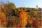 Goldener Herbsttag bei Görlitz
