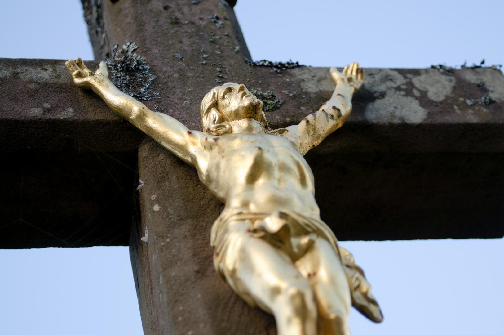 goldener Jesus