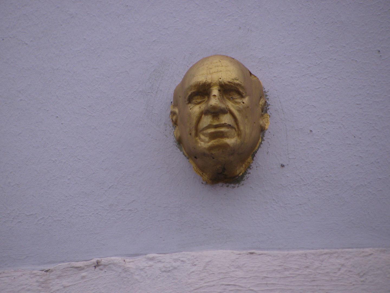 Goldener Kopf