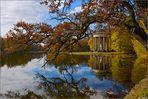 Goldener Oktober im Schlosspark