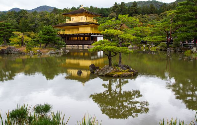 Goldener Pavillon in Japan