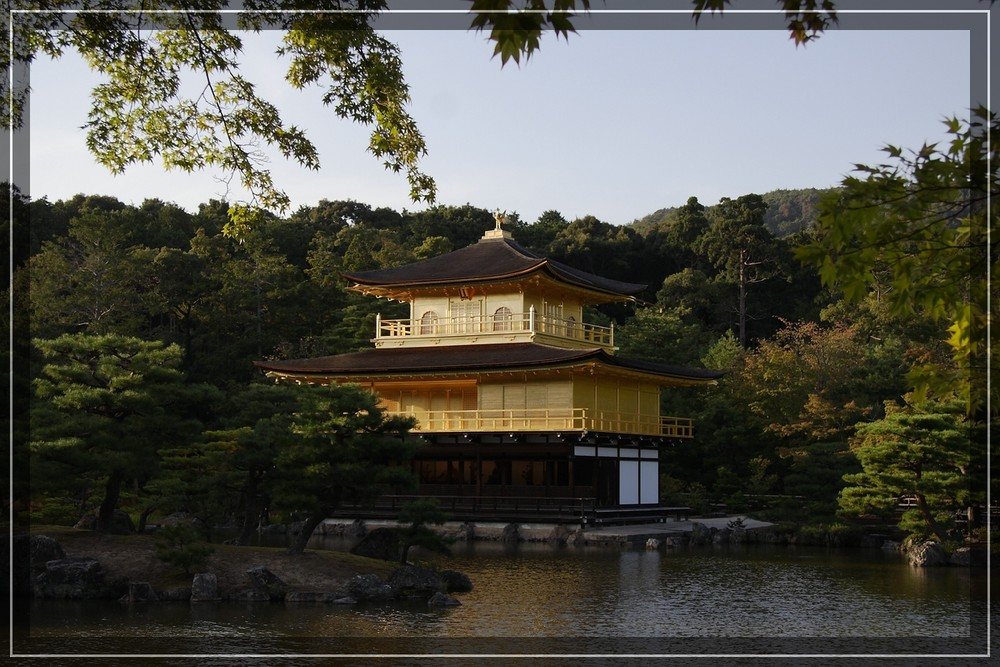 Goldener Tempel in Kyoto