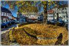 goldenes Blättermeer