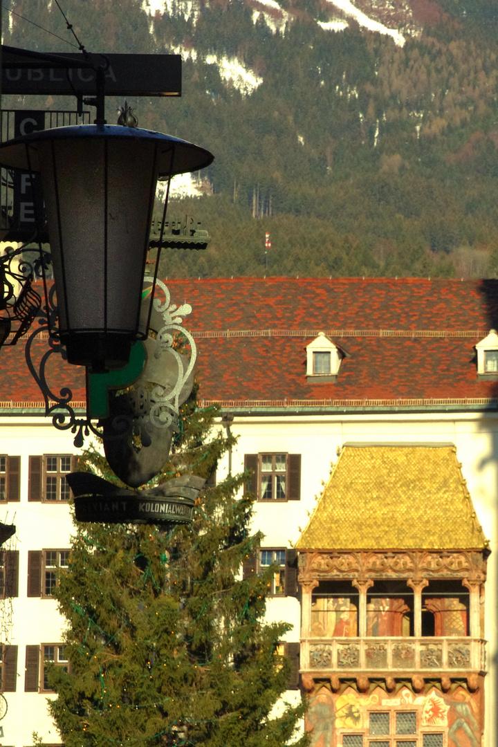 goldenes Dach'l