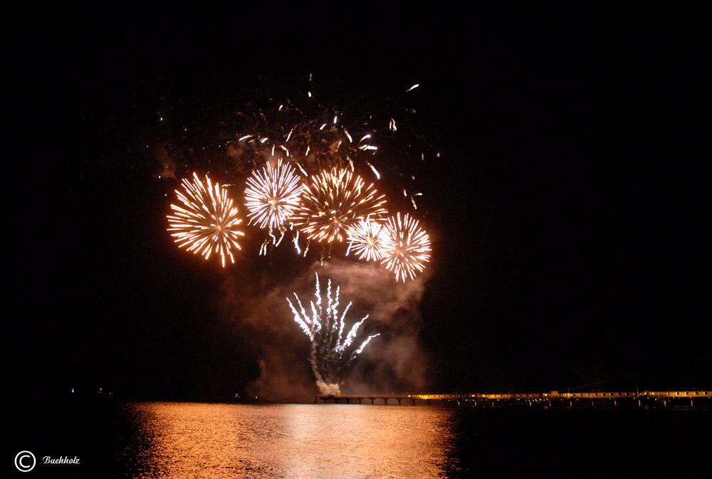 Goldenes Feuerwerk