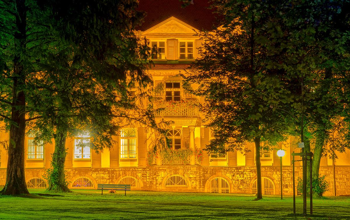 goldenes Haus