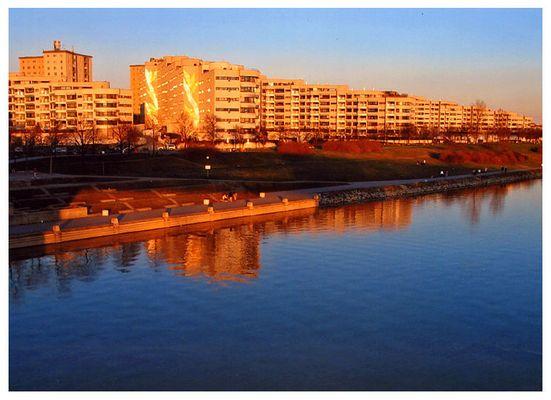 Goldenes Wien an der Donau