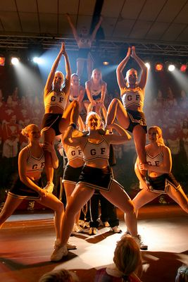 GoldFlash Cheerleader im Karneval