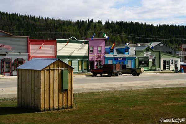 Goldgräberstadt Dawson City