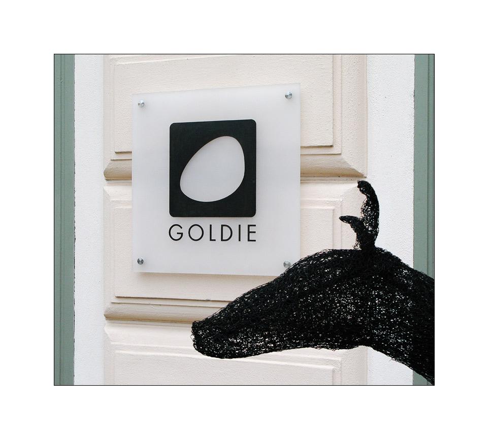 Goldie der Wachhund