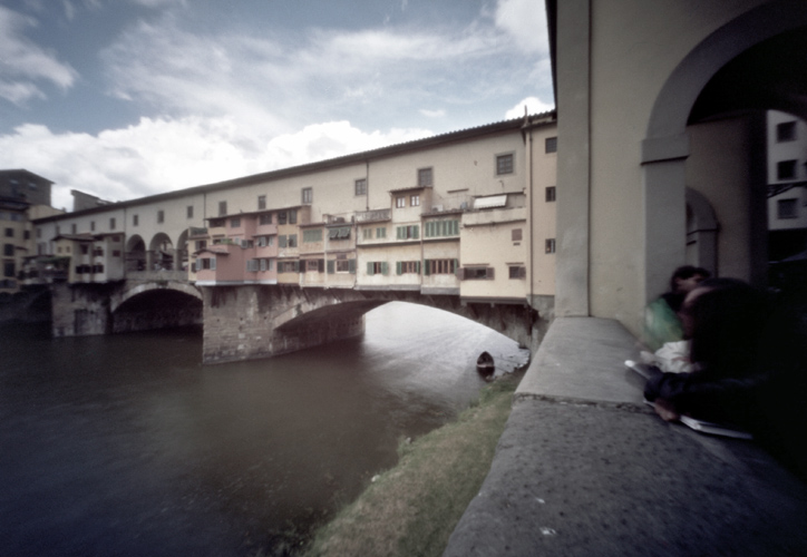 Goldschmiedbrücke in Florenz