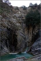 Gole del Salinello - cascata