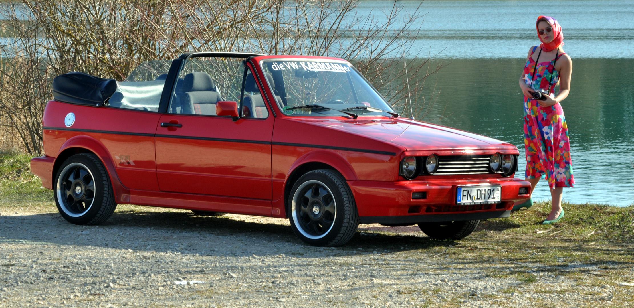 Golf 1 Cabrio Sport Line