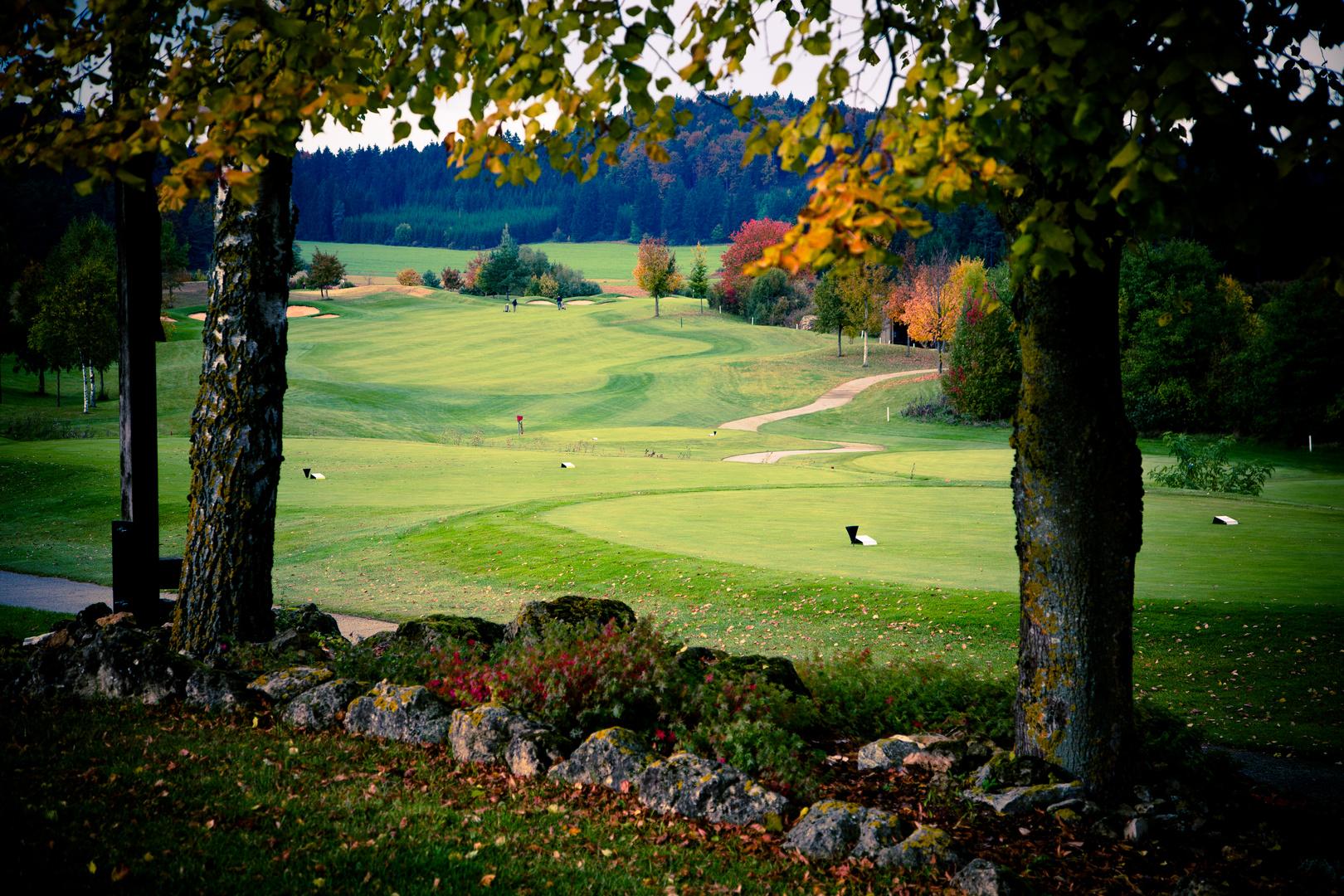 Golf am Habsberg Abschlag 10 Farway 1