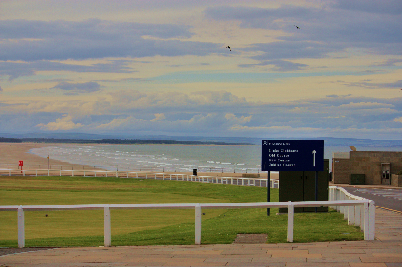 Golf-Courses in St.Andrews