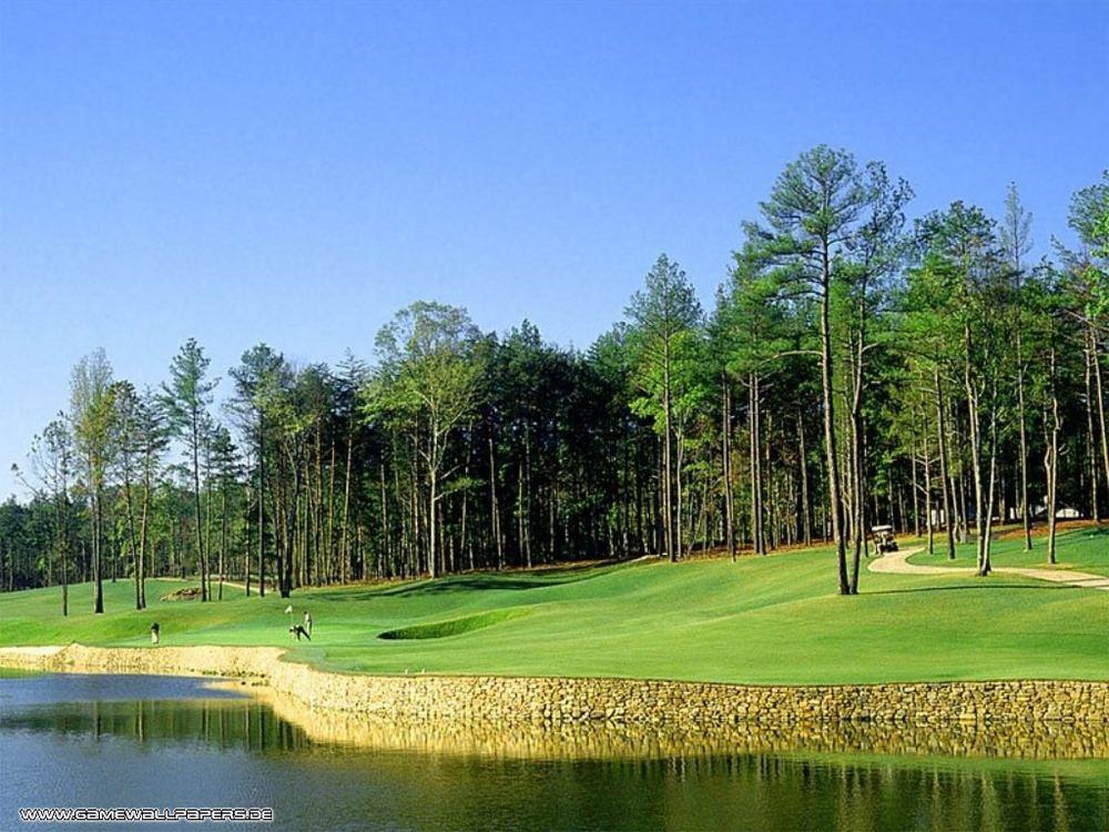 Golf in der Natur