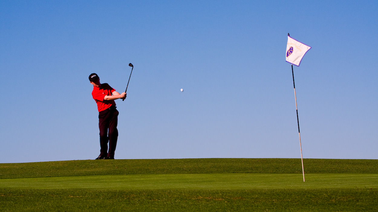 Golfbild aus Florida im Januar 2010