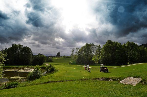 Golfclub St. Oswald - Abschlag 16