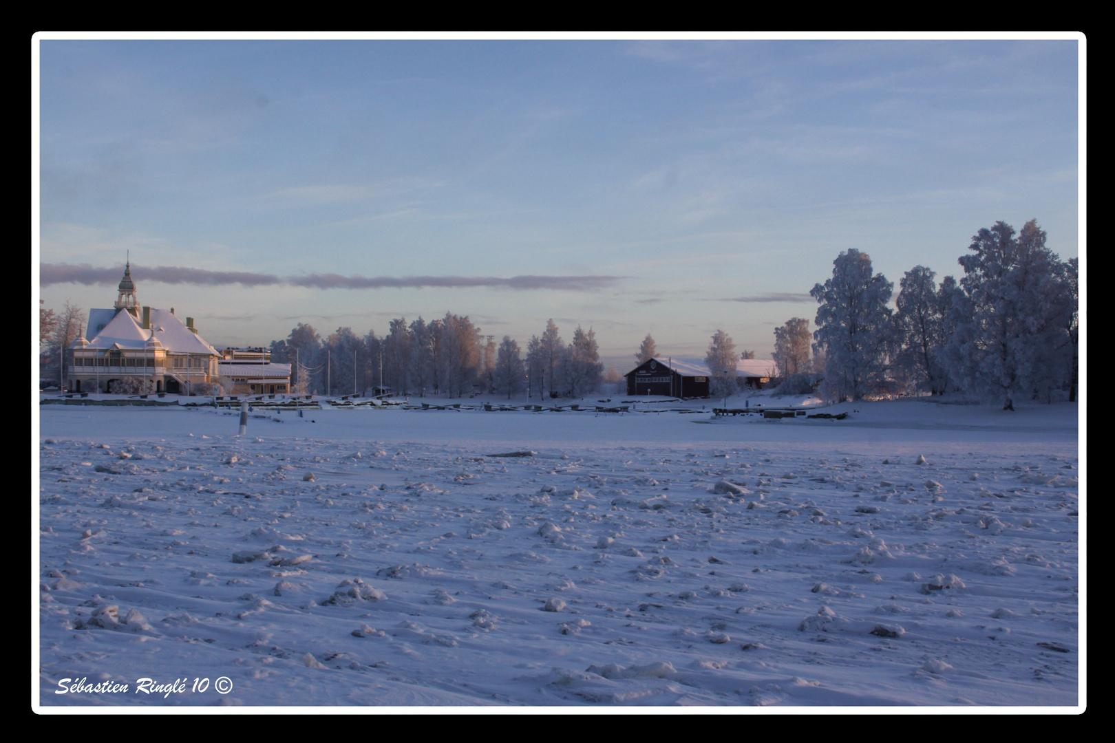 Golfe de Finlande Glacé