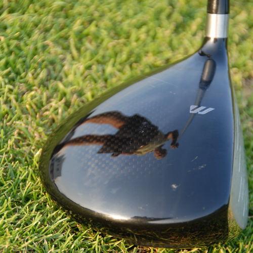 golfeur et son reflet