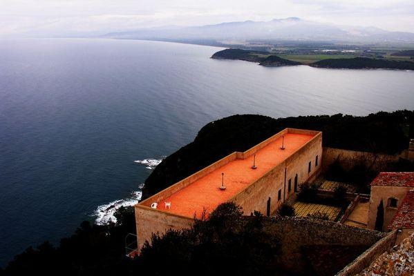 Golfo di Baratti dal castello di Populonia