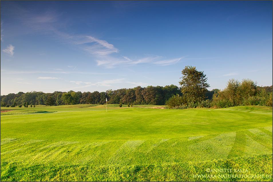Golfplatz-Idylle