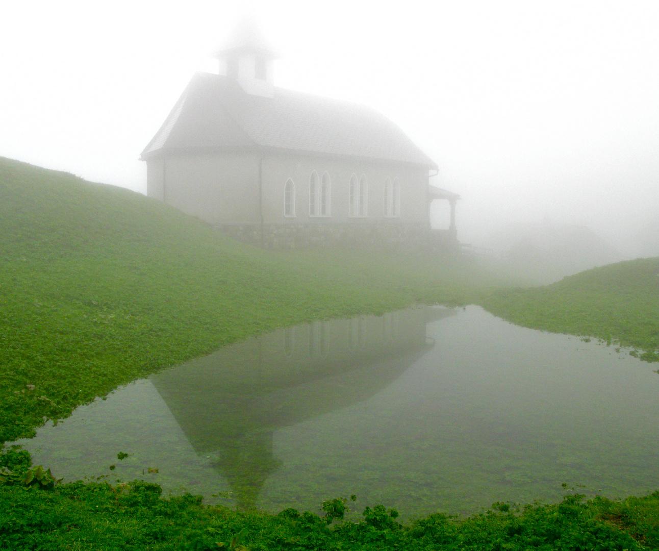 Golzern mit Kapelle, Maderanertal Uri