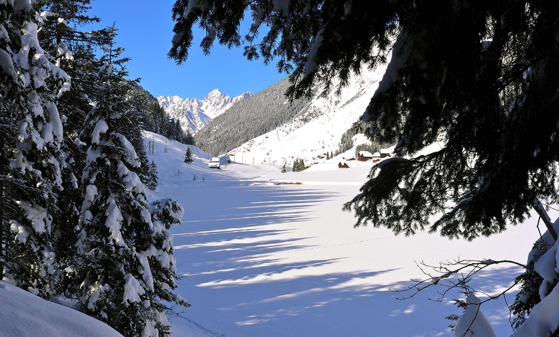 Golzernsee im Winter