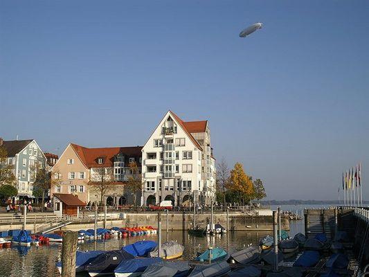 Gondelhafen in Friedrichshafen