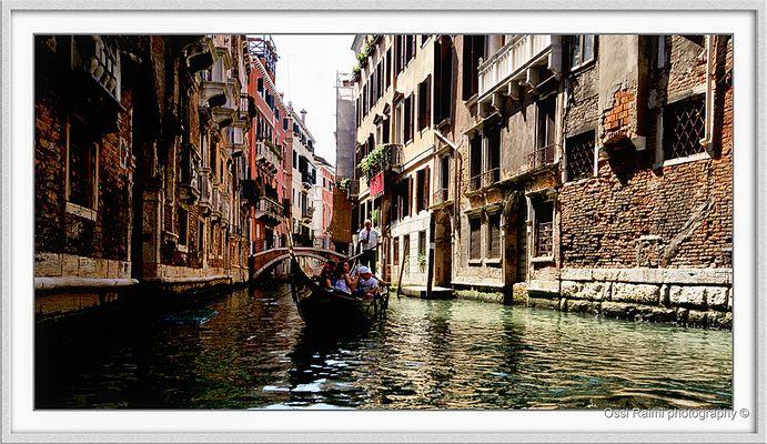 Gondola drive, Venice 2007