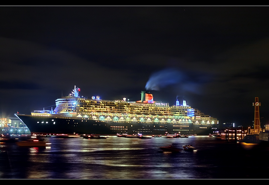 Good Bye Queen Mary 2