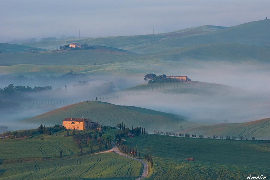 Good morning, beautiful Tuscany!