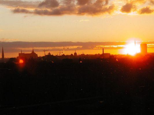 Good morning, rostock... ein toller Herbstmorgen