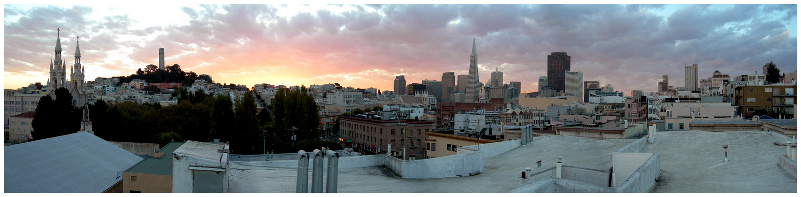 Good Morning San Francisco! (Pano)