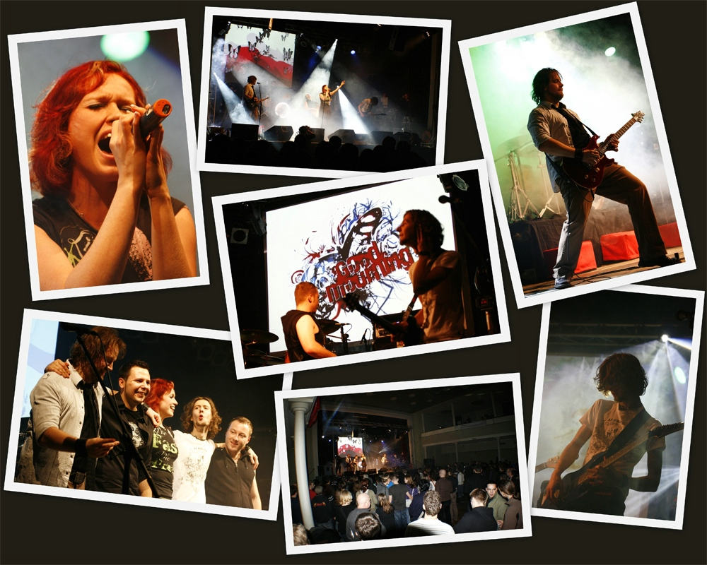 # Good Mourning - Release Party Collage